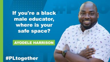 Ayodele Harrison If you're a black male educator, where is your safe space?