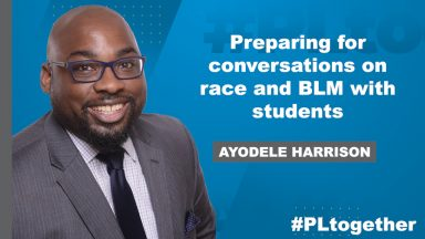 Ayodele Harrison on preparing conversations on race with students