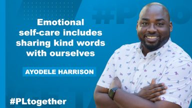 Ayodele Harrison on emotional self care