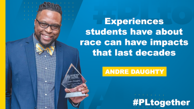 Andre Daughty on teaching about race